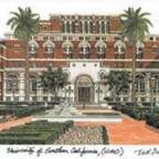 USC Artwork by Ted Crane