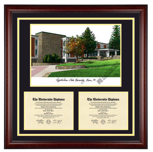 appalachian - Ecu Diploma Frame
