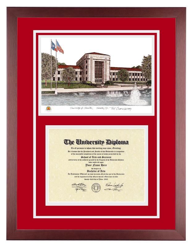 University of Houston – UH U of H Cougars