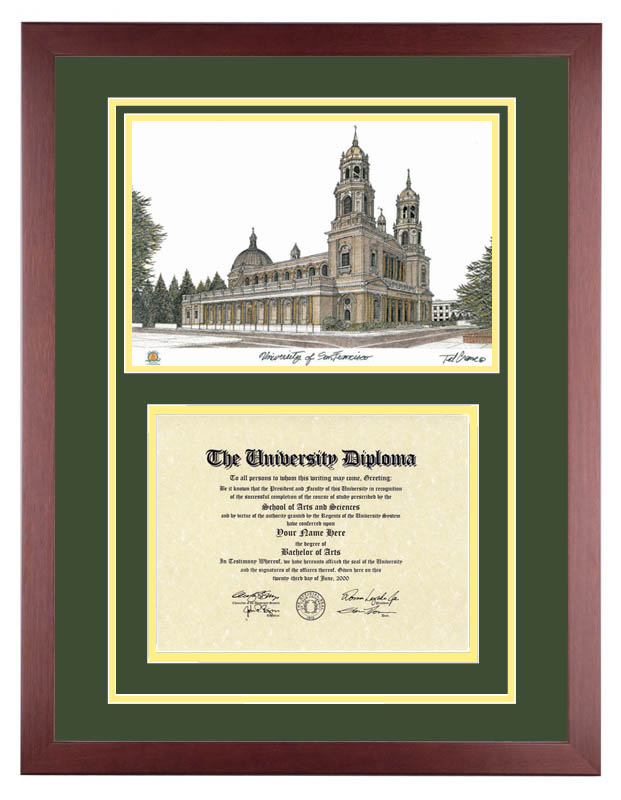 University of San Francisco – USF Dons | Diploma Artworks
