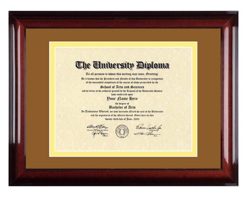 "University of Texas Medical Branch – UTMB ""Old Red""   Diploma Artworks"