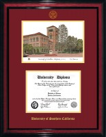 Diploma Frame with School Seal